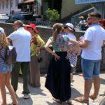 В Грузии владельцы отелей вышли на митинг из-за отсутствия туристов из России