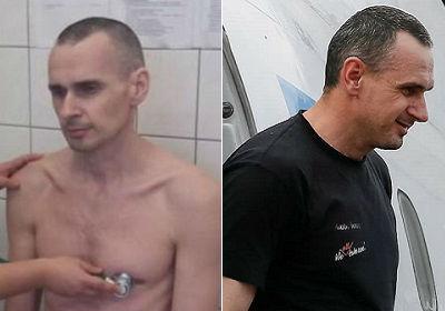 Сенцов объяснил, почему набрал вес в российской тюрьме