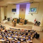 В зале парламента Грузии неожиданно включили гимн СССР
