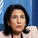 Президент Грузии написала жалобу в ООН из-за запрета грузинских лекарств в Южной Осетии
