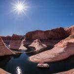 В США низкий уровень в реке Колорадо грозит дефицитом воды в 7 штатах