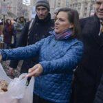 В Киеве на Майдане из-за печенья произошла потасовка