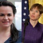Тихановская попросила главу Эстонии поддержать усиление санкций против Белоруссии