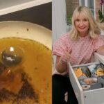 В Великобритании девушка помыла грязную посуду при помощи чайного пакетика