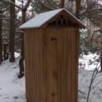 На Украине около Нежина украли туалет, построенный на средства ООН